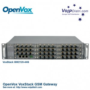 OpenVox VoxStack Multi-Port GSM-Gateway with Hot-Swap technology